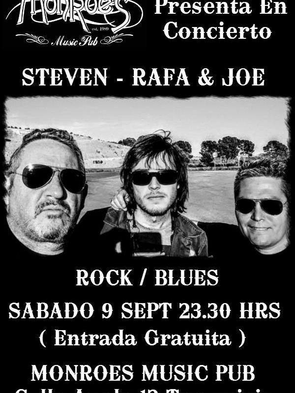 Steven Rafa y Joe Concierto Blues en Torrevieja
