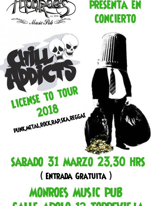 Chill Addicts,concierto en Torrevieja