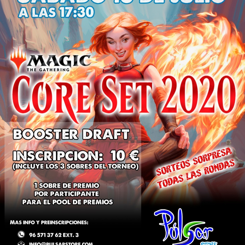 Torneo de Magic The Gathering.